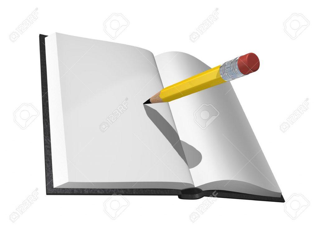 6516664-Livre-et-crayon-Banque-d'images